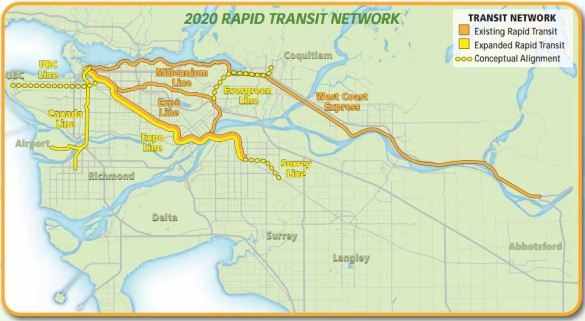 Expanded Skytrain Network 2020