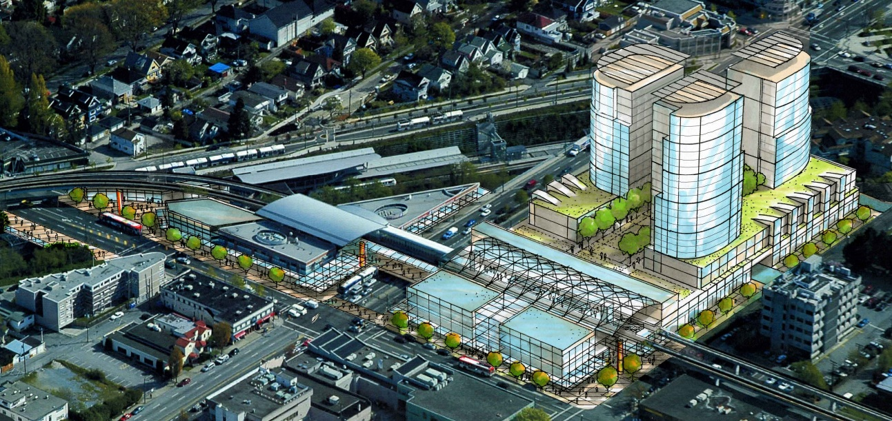 Urban plan Vancouver Canada