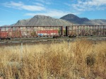 Trains Near Downtown Kamloops.