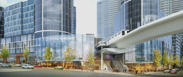 Proposal for Towers Adjacent to Gilmore Skytrain Station
